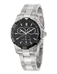 Victorinox Swiss Army Men's 241302 Alliance Sport Chronograph Black Dial Watch