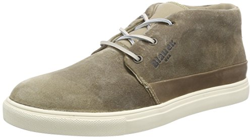 Blauer USACUPMID/SUE - Sneaker uomo , Beige (Beige (tortora)), 43