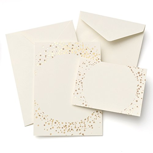 Gold Dots Invitation Kit