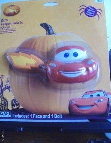 Disney Pixar Cars Cars Pumpkin or Snowman Push In - 1