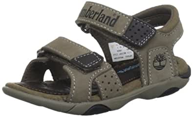 Timberland Oyster River, Boys' Sandals, Greige/Brown, 3.5 UK Child