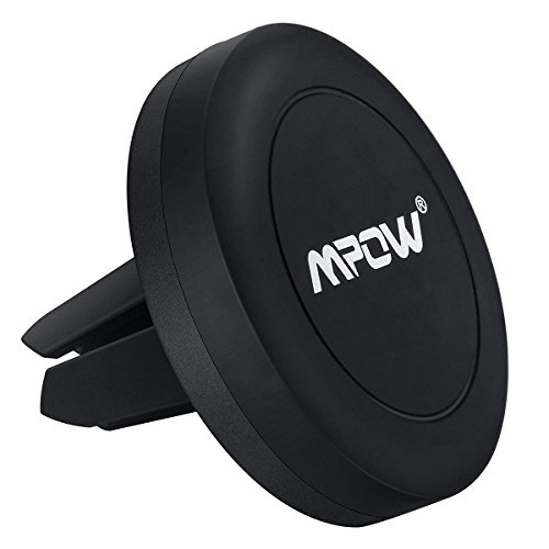 Car Mount,Mpow Grip Magic Mobile Phone Cradle Air Vent Magnetic Phone Holder Universal Car Mount for iPhone 6/6 Plus/5 Nexus 7 Huawei P9 and other Andriod Cellphones(Black)