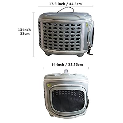Pet Magasin Pet Travel Kennel for Cats, Small Dogs Puppies & Rabbits