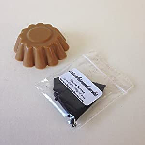 WHICKSNWHACKS 10gram Cocoa Brown Candle Making Dye Flakes for Paraffin/Soy Wax