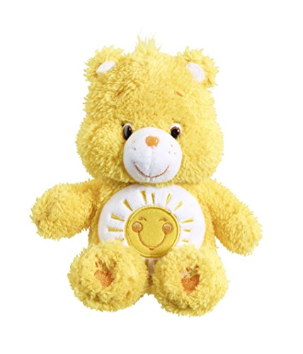 vivid-imaginations-care-bears-fluffy-friends-funshine-bean-bag-plush-toy-multi-colour