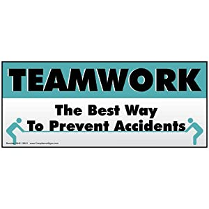 Amazon.com : Teamwork The Best Way To Prevent Accidents ...