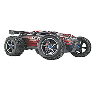 Traxxas 56087 E-Revo Brushless 4WD Electric Racing Monster Truck Ready-To-Race Trucks (1/10 Scale), Colors May Vary by Traxxas
