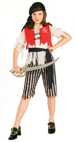 Girls Wendy the Wench Pirate Costume