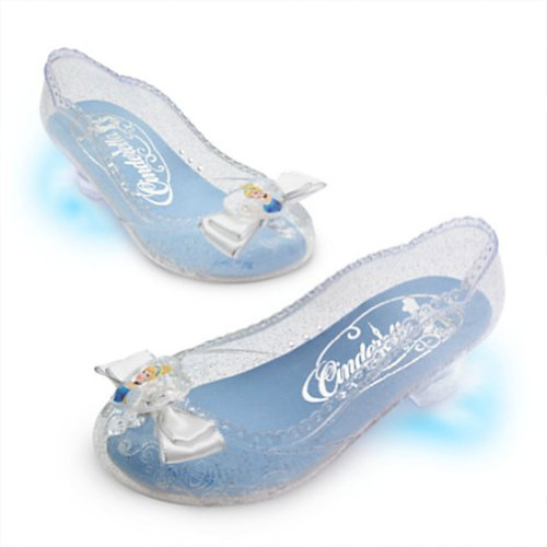 Disney Light-Up Cinderella Shoes for Girls Dress up 7 / 8