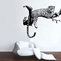 Animal Wild Zoo Leopards, Cheetahs, Tail Wall Decal Sticker Living Room Stickers by QINU KEONU