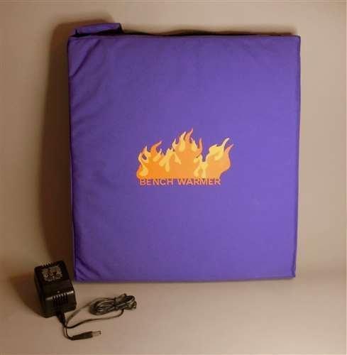 [해외]벤치 워머 휴대용 온수 쿠션, 블랙/Bench Warmer Portable Heated Cushion, Black