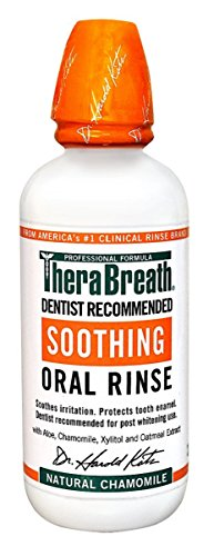 테라브레스 가글 카모마일 470ml TheraBreath Dentist Recommended Soothing Oral Rinse, Natural Chamomile Flavor 16 oz