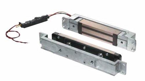 Schlage Electronics Gf3000 Mortise-Mounted Shear Electromagnetic Lock, Single Inswinging Or Outswinging Door, Vertical Or Horizontal Mount, 3,000 Lb. Holding Force, Satin Aluminum Finish
