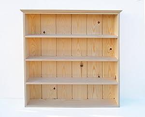 Rack Kitchen Display Shelves Freestanding Or Wall Mounted 4 Shelves