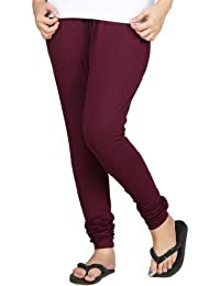 Clifton Women Stretch Cotton Legging - Wine