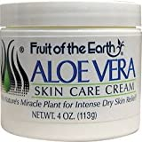 Fruit Of The Earth Aloe Vera Cream - 4Oz Each X 2 Pieces