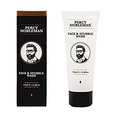 Best Cheap Deal for Face and Stubble Wash by Percy Nobleman 75 ml / 2.5fl.oz. An Invigorating and hydrating Face Wash For Men. Cleanse and Soften Your Face and Skin with Our Awakening 98% Naturally Derived Face Wash. by F&M Cosmetics Limited - Free 2 Day
