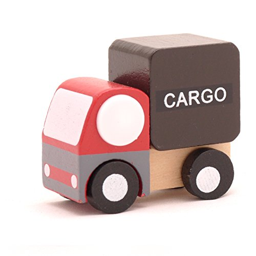 Mini Wooden Car Cargo,T00077 - 1
