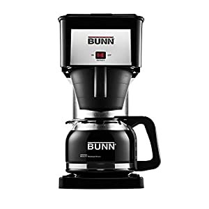 BUNN BXB Velocity Brew 10-Cup Home Coffee Brewer, Black