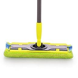 MTL 360 Sweeper Floor Mop Starter Kit Professional Microfiber Mop Stainless Steel Handle Hardwood Floor Microfiber Mop