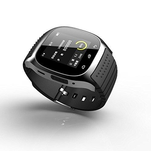 Rwatch SmartWatch portatile m26, controllo dei mezzi di comunicazione/auricolari chiamate/Contapassi/anti-perdite per Android e iOS