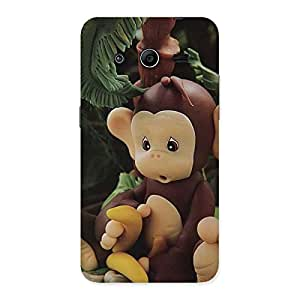 Cute Toy Monkey Multicolor Back Case Cover for Galaxy Core 2