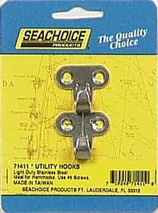 SEACHOICE/LAND&SEA INC. 71411 UTILITY HOOKS