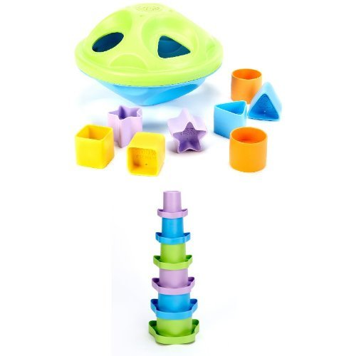 Green Toys Sorting and Stacking Bundle - 1
