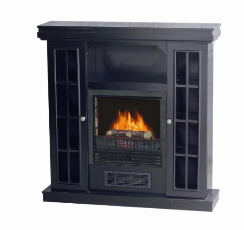 Riverstone Industries Electric French Fireplace Blk