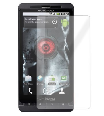 Invisible Cell Phone Screen Protector Shield Skin For Motorola Droid X