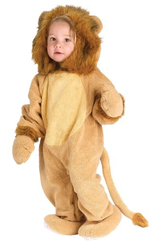 Lets Party By FunWorld Cuddly Lion Infant Costume / Brown - Size Infant (12-24M)