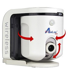 Airlink 101 Skyipcam650W Wireless Infrared Motion Remote Network Camera W/Pan & Tilt Control front-215594