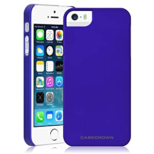 CaseCrown Lux Snap On Case (Blue Sapphire) for Apple iPhone 5 \ 5s