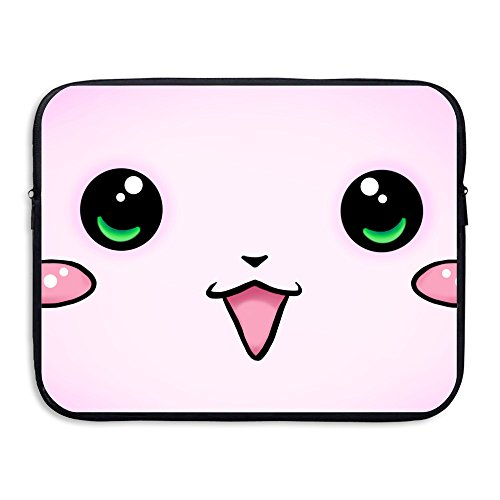 brand new 4a2c4 7dc8d 15 Inch Cool Pink Kawaii Cat Laptop Computer MacBook Sleeve - Import It All