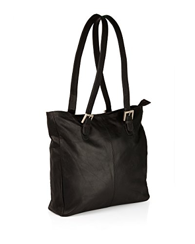 Voylla Voylla Black Tote Bag Featuring Removable Twin Straps
