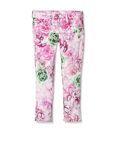 MISS GRANT Pantalone [Rosa/Verde]