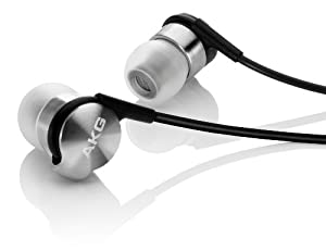 AKG K3003I Reference Class 3-Way Earphones with Mic and Control (Black/Silver)