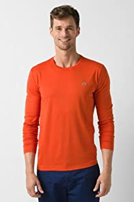 Long Sleeve Pima Jersey Crewneck T-Shirt