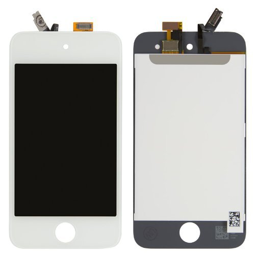 iPod Touch 4th Gen LCD Touch Digitizer Screen Assembly White (Ipod Touch 4th Digitizer compare prices)