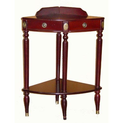 Cheap CORNER CONSOLE TABLE D18″xD18″xH30″ (B001NQ1I6A)