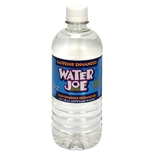 Water Joe Caffeine Enhanced Water 20 Ounce Pack Of 24