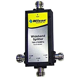 WILSON ELECTRONICS 859980 3-WAY 700 MHZ-2,300 MHZ SPLITTER WITH N FEMALE CONNECTORS (859980) -