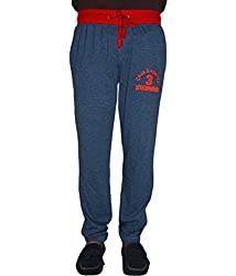 Crux&hunter Men's Trackpant (AMZ_ZJ_163_Grey_34)