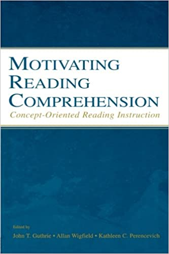 Book cover: motivating reading comprehension