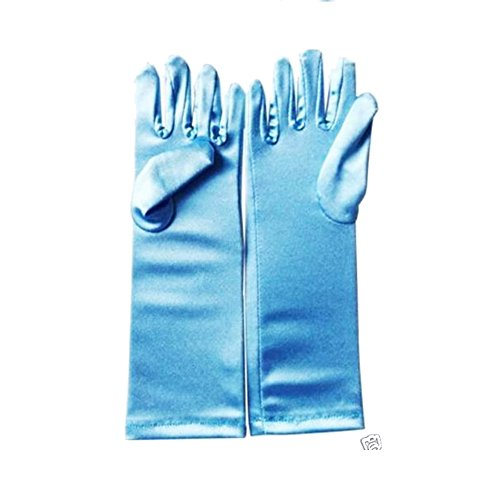 Disney Frozen Elsa Gloves Costume Dress Cosplay Halloween Party 9""