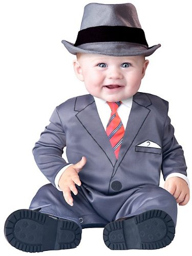 Baby Business Costume - Infant Small front-885584