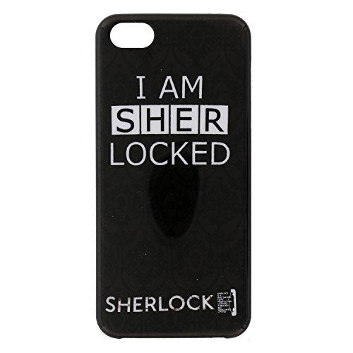 "Sherlock Holmes iPhone 5/5S Case - Black ""I Am Sherlocked"" Cell Phone Cover"