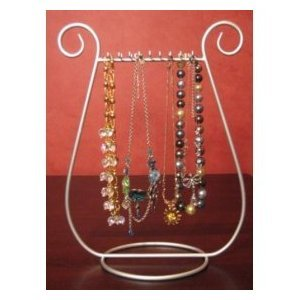 Tripar SILVER JEWELRY harp NECKLACE RACK stand HOLDER Display at Sears.com
