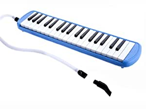 D'Luca M37-BL 37 Key Melodica with Case,
