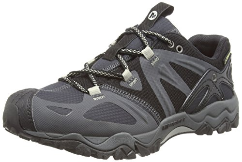 merrell-grassbow-sport-gore-tex-zapatos-de-low-rise-senderismo-hombre-negro-black-silverblack-silver